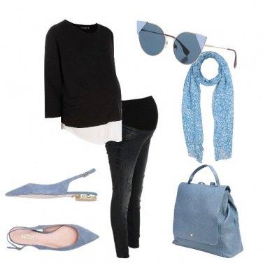 Outfit Fiocco azzurro