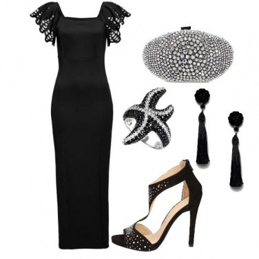 Outfit Ladylike in black