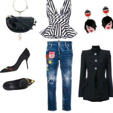 Outfit Grintosa di sera
