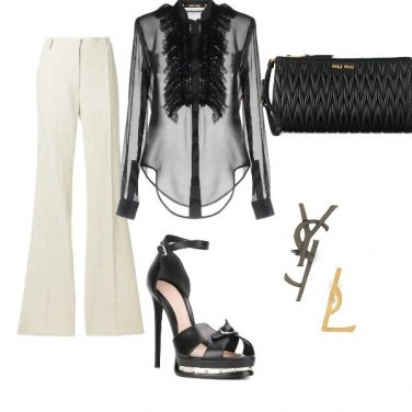 Outfit Black&White Chic