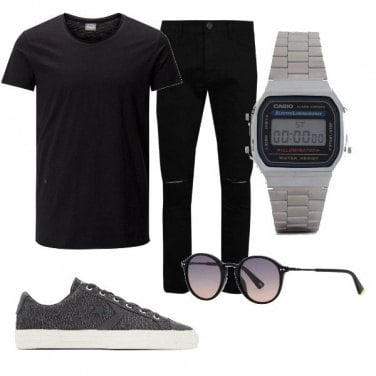 Outfit #totalblack
