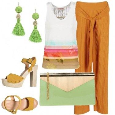 Outfit Pochette verde