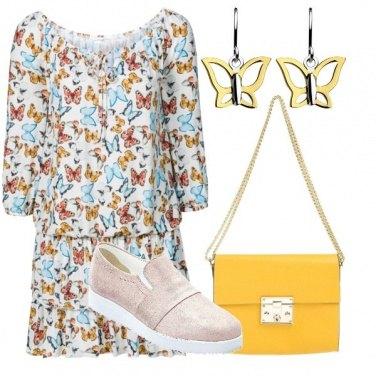 Outfit Volo di farfalle