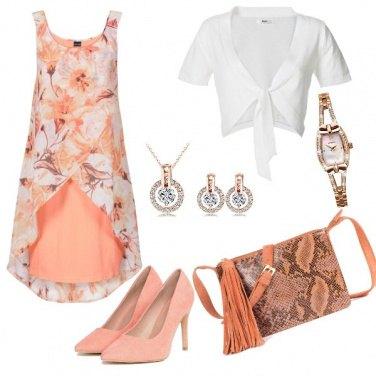 Outfit Fiori di pesco