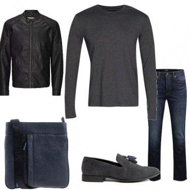 Outfit Biker Rock #154