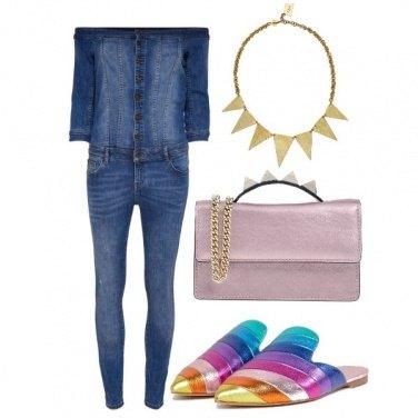 Outfit Jeans Jumpsuite