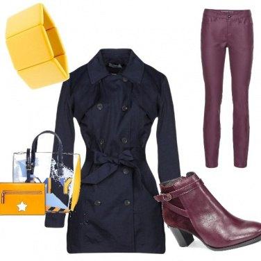 Outfit Sotto la pioggia con stile