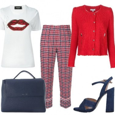 Outfit Bocca rossa
