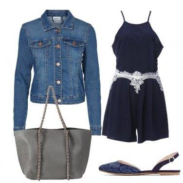 Outfit Tutina blu
