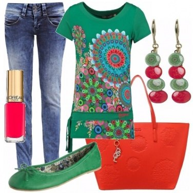 Outfit We love colors