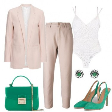 Outfit Il completo rosa