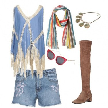 Outfit Etnico #634