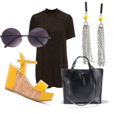 Outfit Un tocco di giallo