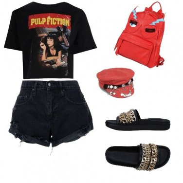Outfit Pulp Fiction