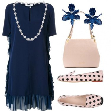 Outfit Ballerine a pois
