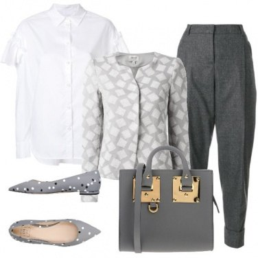 Outfit Mix and match grigio