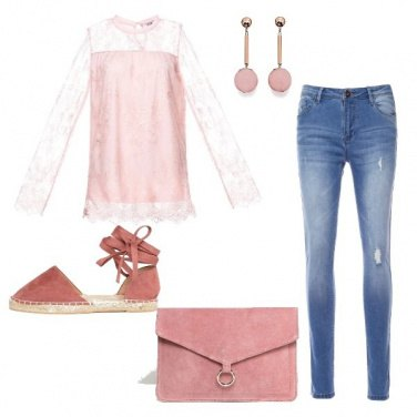Outfit Romantica e dinamica