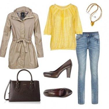 Outfit Maglia gialla