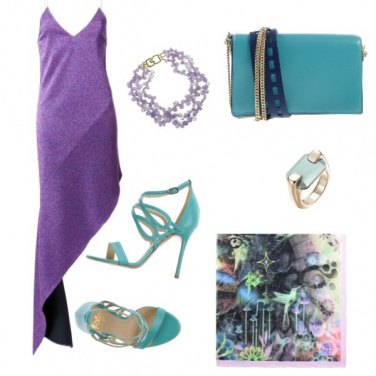 Outfit Ariel style