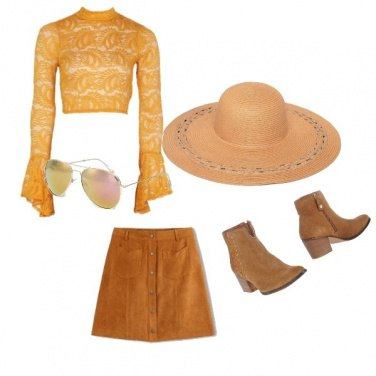 Outfit Etnico #640