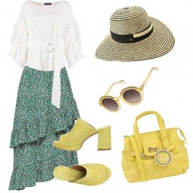 Outfit Come un quadro di Monet