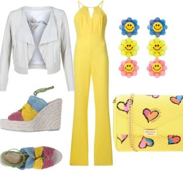 Outfit Yellow is chic