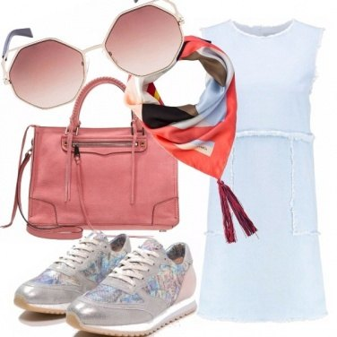 Outfit Sporty chic girl