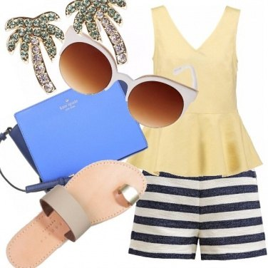 Outfit Rendez-vous sous les palmiers