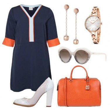 Outfit Un pizzico d\'arancio