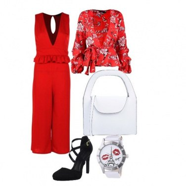 Outfit Forever red