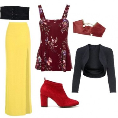 Outfit Snow white style