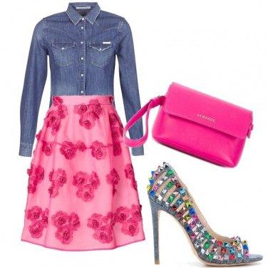 Outfit Denim e colore