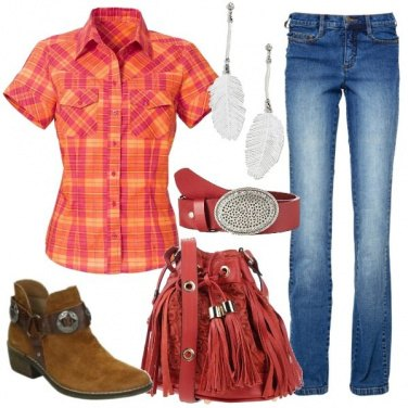 Outfit Ragazza country