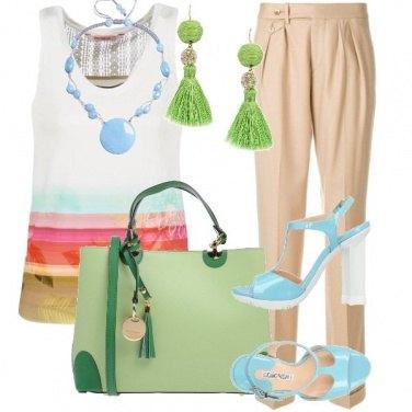 Outfit Aperitivo a colori