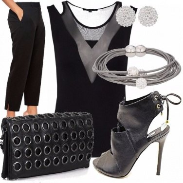 Outfit Black party