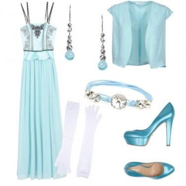Outfit Elsa style
