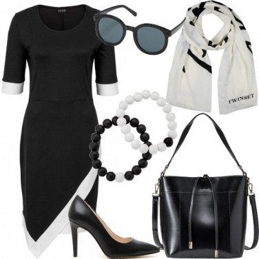 Outfit Ufficio in nero e bianco