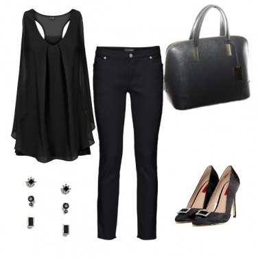 Outfit Total Black Sempre