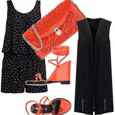 Outfit Pois e arance