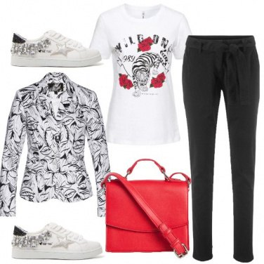 Outfit Sneakers gioiello