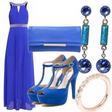 Outfit Blue beautiful