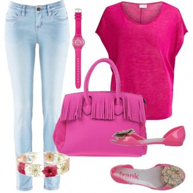 Outfit Rosa shocking!
