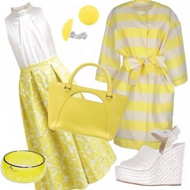 Outfit Yellow dream