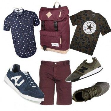 Outfit 1 borsa 2 stili