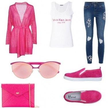 Outfit La canotta griffata
