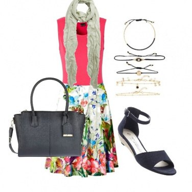 Outfit Note fiorite