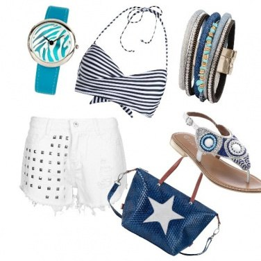 Outfit Spritz on the beach