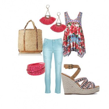 Outfit Hippie