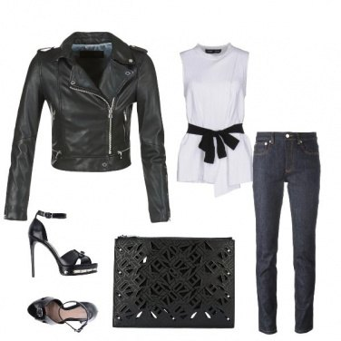 Outfit Rock con stile !