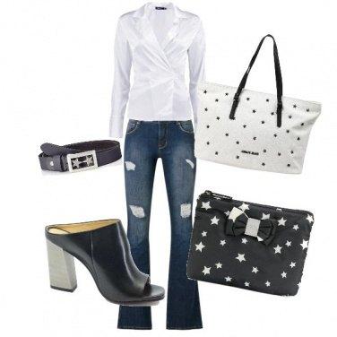 Outfit Borsa e beauty con le stelle